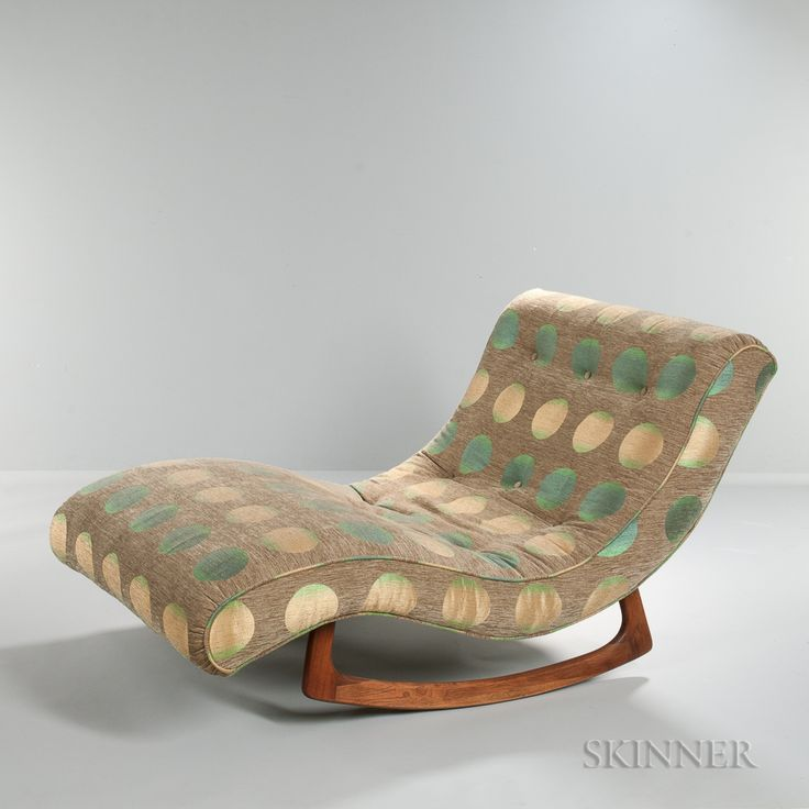 Best 25 chaise longue ideas only on pinterest for Adrian pearsall rocking chaise