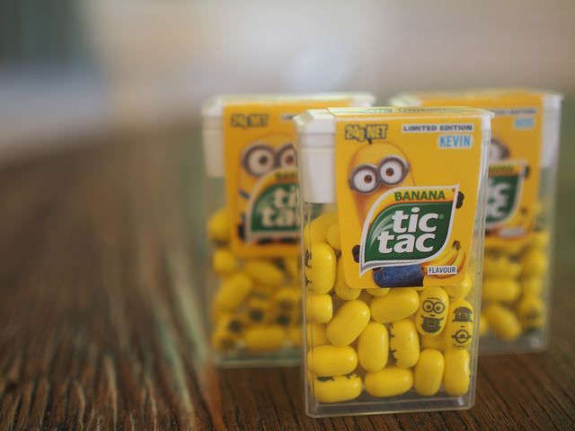 TIC TAC Minions are coming + a giveaway