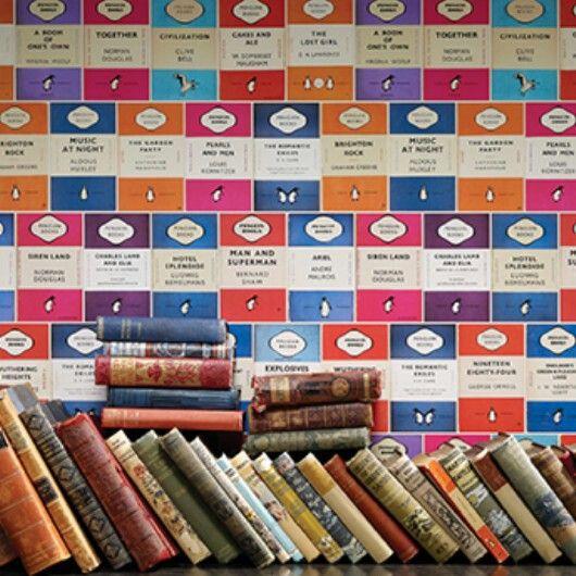 Penguin library fra Osborne & little. Inspirert av den kjente bokserien med samme navn.