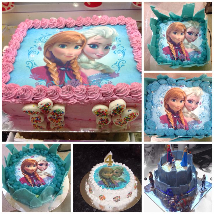 """""""Frozen"""" Cakes available at Wendy's City Central Target Arcade Shepparton."""