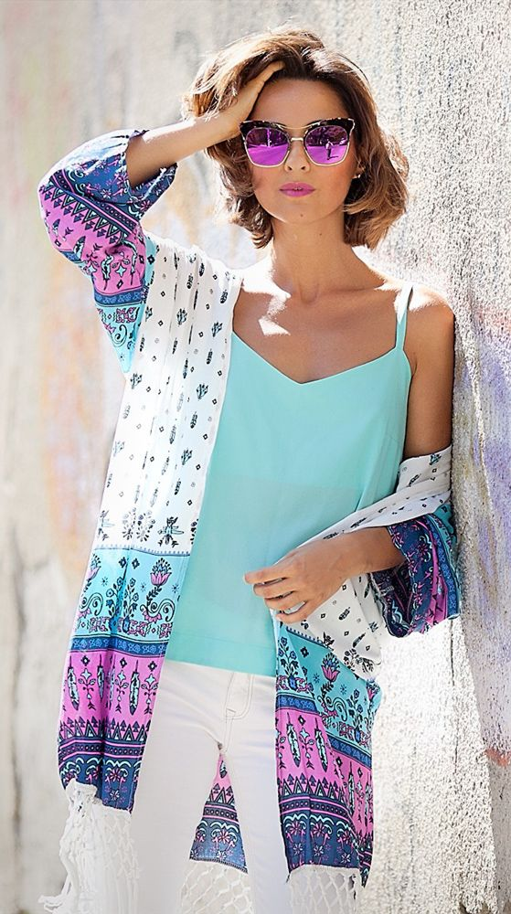 #kimono #gentleMonster #boho #Bohochic #Chic #summerstyle #ootd #OutfitIdeas