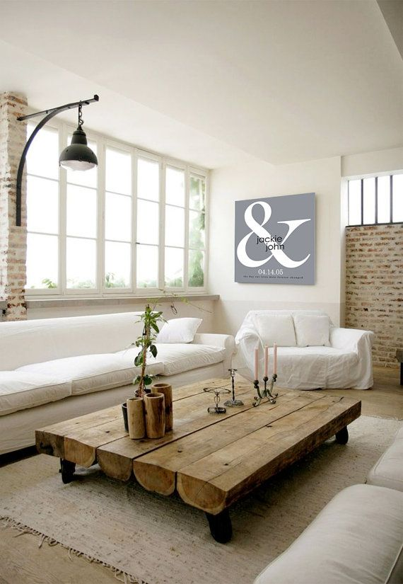 Ampersand Canvas Print Couples gift Wedding gifts Canvas Bedroom Decor Living room decor gift for him Unique Anniversary gifts by Indigorain