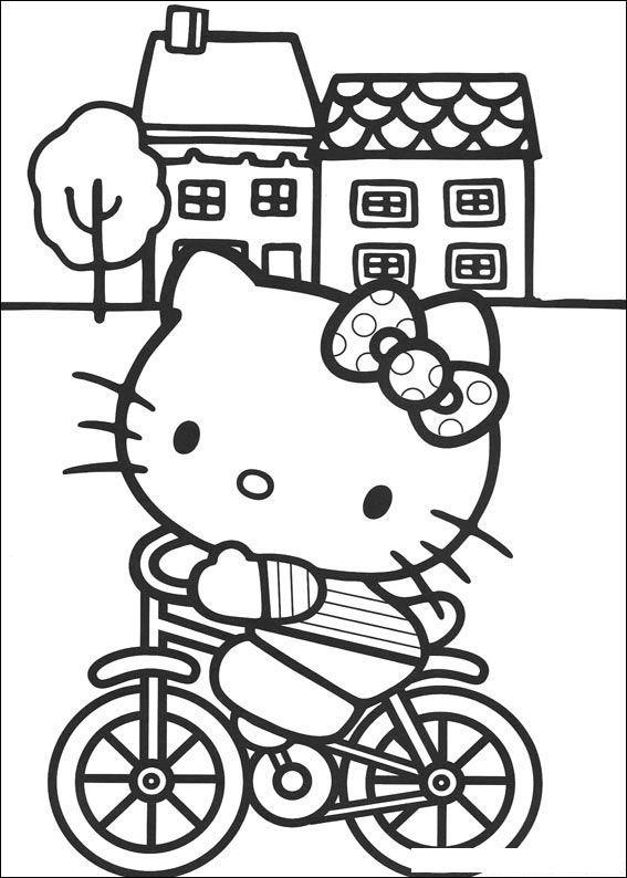 72 Disegni Da Colorare Di Hello Kitty Hello Kitty Libri Da