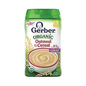 organic_oatmeal_cereal Gerber