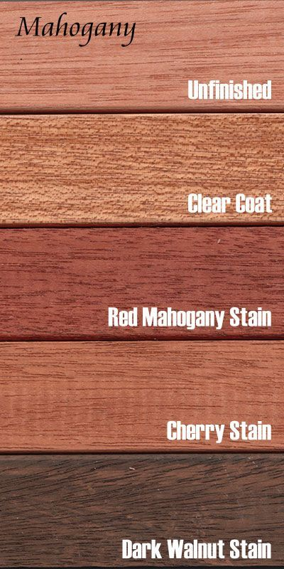 Mahogany is a heavy and very stable hardwood with coloring