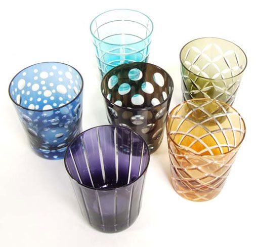 Tumbler set.   Almost too beautiful to use.  Brand: Pols Potten