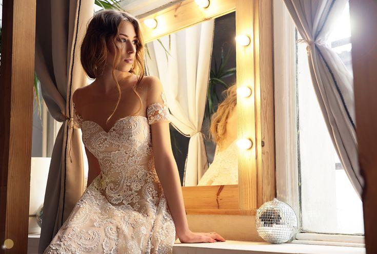 Tender bride in tender dress Milagros💕