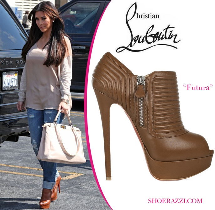 Kim Kardashian in Christian Louboutin \