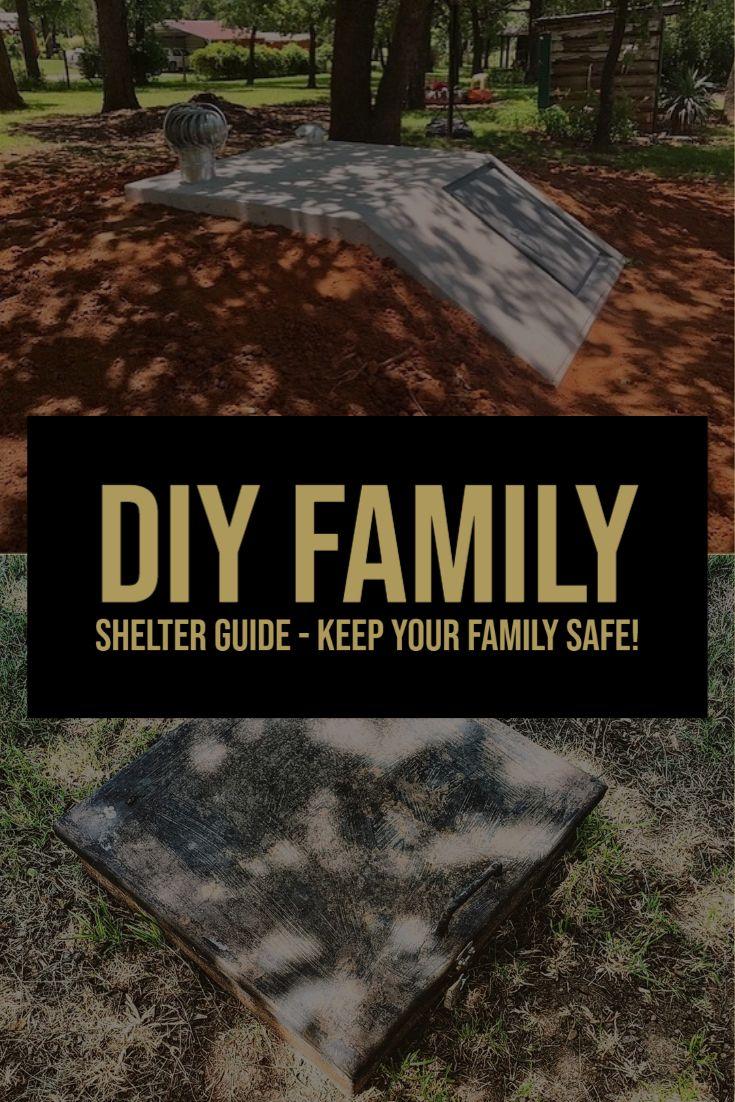 Diy family survival shelter bunker guide survival