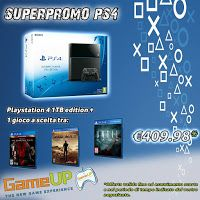 GameUp Cinisello Balsamo: Offerta Playstation 4 Ultimate Player 1TB