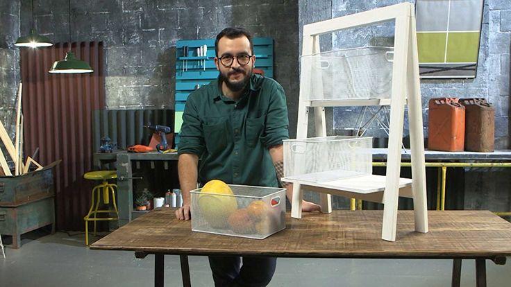 Paulo Biacchi ensina o passo a passo para você confeccionar em casa esse móvel indispensável na cozinha