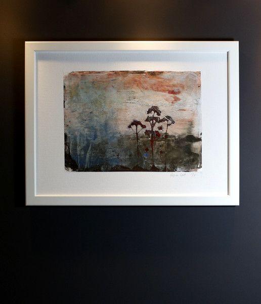 Acrylmalerei - Acrylbild - Monoprint (Gelliprint) - Unikat! - ein Designerstück von Wittenmang bei DaWanda