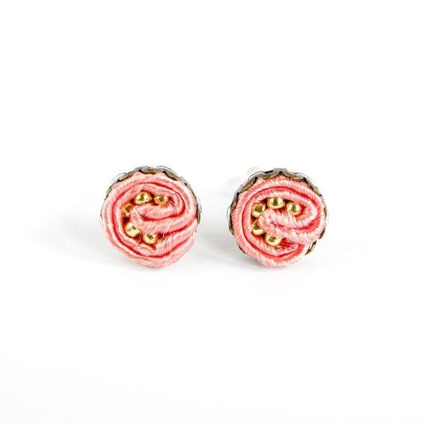 minimalistic soutache earrings