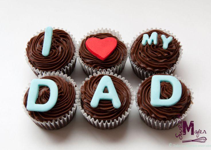 cupcakes dia del padre - Buscar con Google