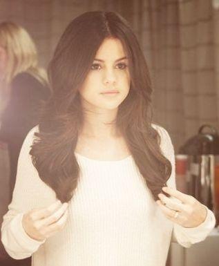 Selena Gomez hair curls long hair