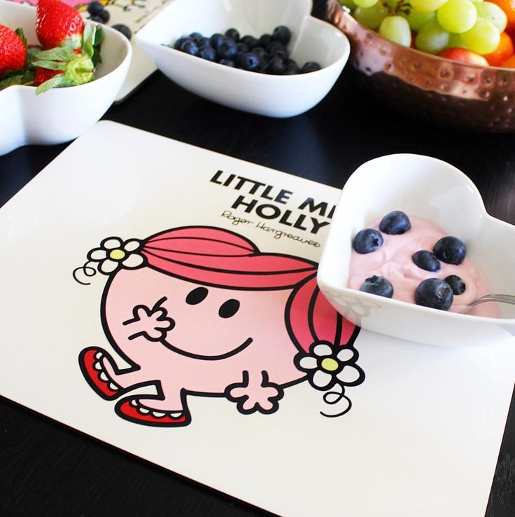 "435 Likes, 3 Comments - Mr. Men™ Little Miss™ (@mrmenofficial) on Instagram: ""Breakfast is served! Create your own personalised placemat at shop.mrmen.com the perfect gift for a…"""