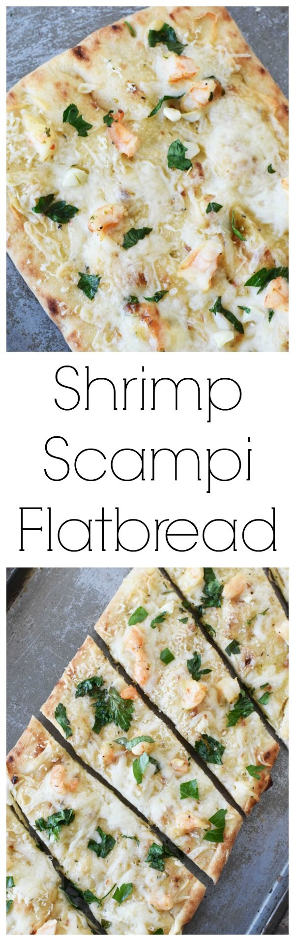 Shrimp Scampi Flatbread  A delicious and quick recipe that requires minimal effort, but produces upscale results. Perfect for the Lenten season or warmer weather.  via @savvysavingcoup AD @Gorton