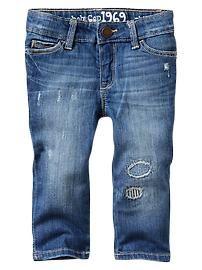 Gap Rip & repair skinny jeans | Toddler Girls