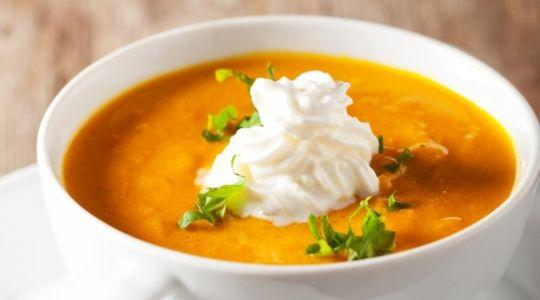 recette magimix soupe de potiron curry gingembre