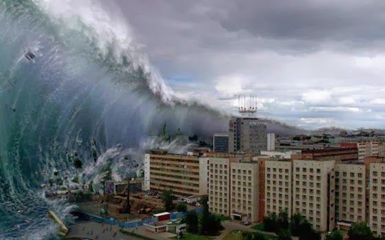 Gelombang Ini 8 Kali Lebih Dahsyat Dari Tsunami 2004