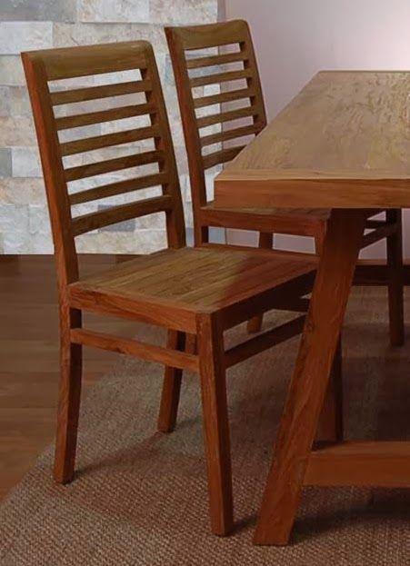 17 mejores ideas sobre juego de sillas de comedor en for Sillas cocina madera precios