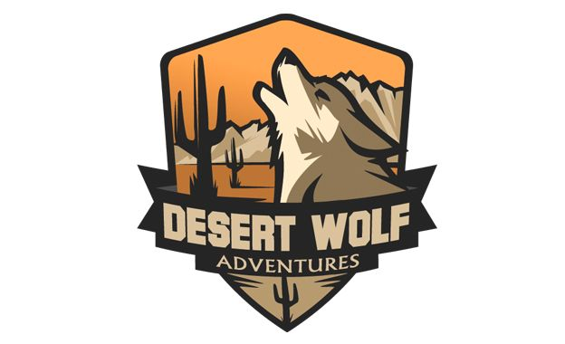 Desert Wolf Adventures logo by Camo Creative