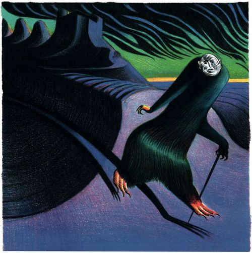 The Raven: Lou Reed's Adaptation of Edgar Allan Poe, Illustrated by Italian Artist Lorenzo Mattotti | Brain Pickings
