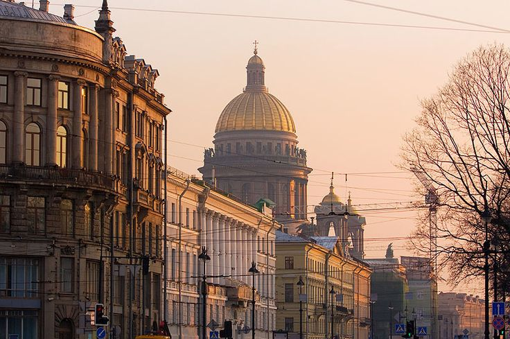 Both the soaring gold spire of the Peter & Paul Cathedral (the world's highest) and the golden dome of St Isaac's Cathedral – the world's largest orthodox basilica  – dominate the St Petersburg skyline.                                                                                                                                                                                                                                                                                              ...