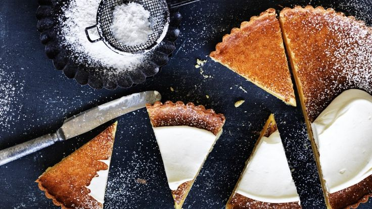 This lemon tart lives up to its name