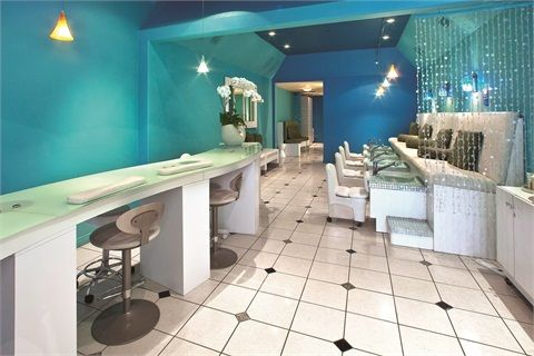 Nail Salon Interior Design Ideas nail salon design ideas yahoo search results Clients See A Difference With Aqua Nail Bar Boutique Interiors Salon Interior Design And Manicures