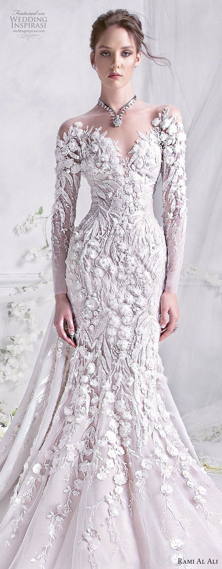 Rami Al Ali 2018 Wedding Dresses #bridalgown