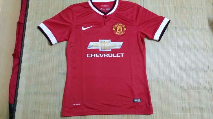Thailand Quality Manchester United Home Football Shirts 2014/15