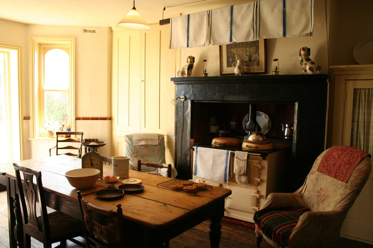 The kitchen range at St Benedict - Victorian Bed and Breakfast, St Leonards on Sea