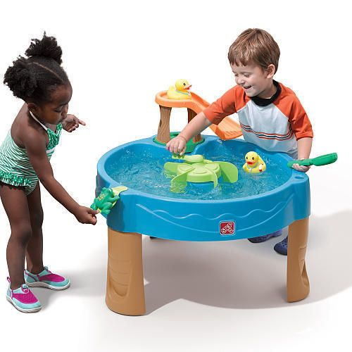 Water Table Duck Pond Kids Toddler Fun Outdoor Activity Toys Garden Splash Play  #Step2