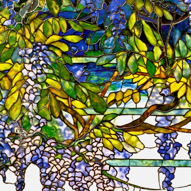 Louis Comfort Tiffany Stained Glass Pure Color Art
