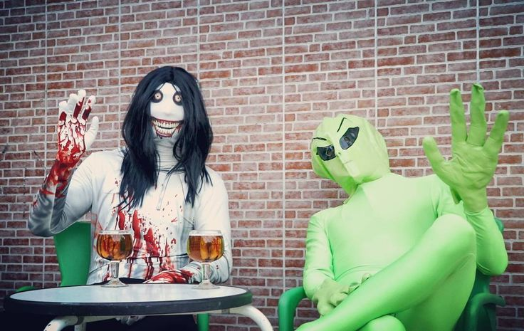 Cheers!! #horrorisfun . . .  #secondskin #morphsuits #killer #terror #horror #fun #halloween #halloweencostumes #beer #deguisement#disfraz #fato #travestimento #costume #kostým #kostüm #party #funidelia #stroje #przebranie #verkleidung #kostuum #verkleedpak #kostume #halloweenfun #halloweentime #halloween2017 #zentai #segundapiel