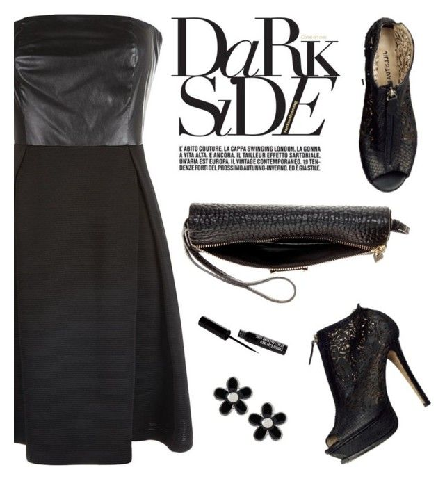 """""""Dark Side"""" by tracey-mason ❤ liked on Polyvore featuring Anita & Green, Burberry and Marc by Marc Jacobs"""
