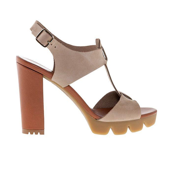850T03_TAUPE SUEDE www.mourtzi.com #mourtzi #mourtziermou #wearthis #sandals #beige