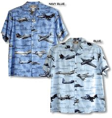 Naval Aviation History Men's Kalaheo Label Shirt is Available in Sage/Khaki, Navy Blue and Blue.   Airplanes shown on the shirt. TBF Avenger<br> A6E Intruder<br> A1 Skyraider<br> F14 Tomcat<br> F9F Panther<br> F4S Phantom<br><br> <b>Ships in background:</b><br> USS Hornet CV8<br> USS Yorktown CV5<br> USS Enterprise CV6<br> USS Lexington CV2<br> USS Midway CV41