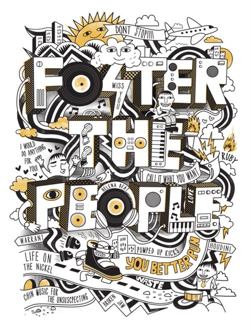 Foster the a People <3