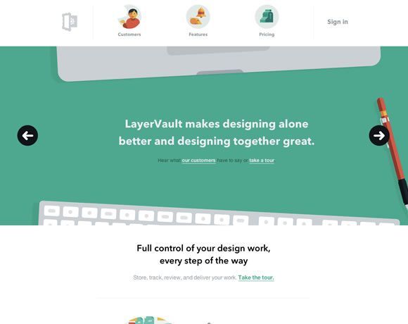 23 Examples of Flat Web Design