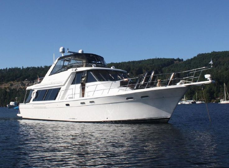 1997 Bayliner 4788 Pilot House Motoryacht Power Boat For Sale - www.yachtworld.com