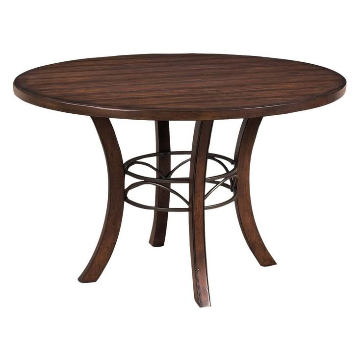 Hillsdale Cameron Round Wood Dining Table   HL3205