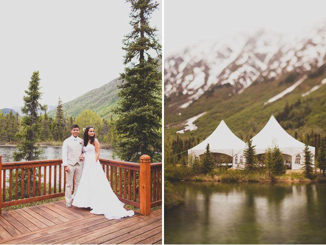An Alaska Wedding: Kristin + Derrick
