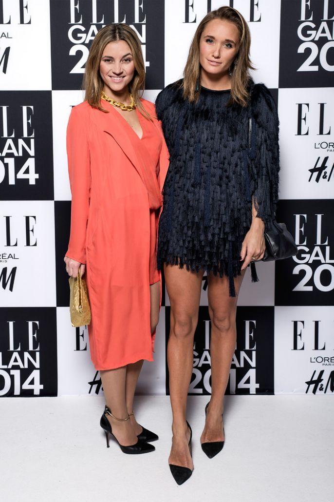 ELLE-galan 2014 - Michaela Forni och Caroline Sandström