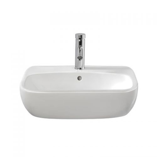 Moda Semi Recessed Basin - Image 1 - modern bathroom