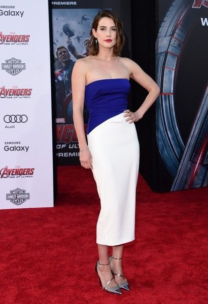 Cobie Smulders World premiere of 'Avengers: Age of Ultron' at the Dolby Theatre, Los Angeles, California on April 13, 2015.