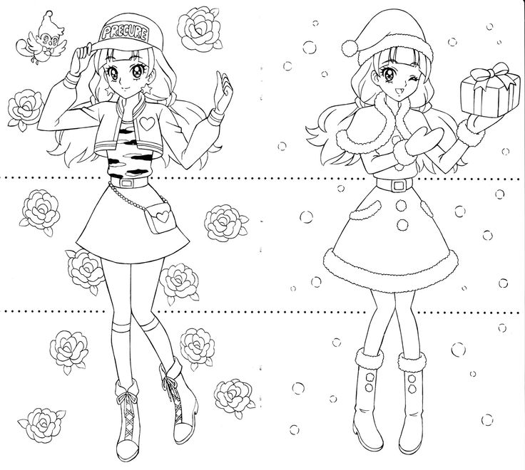 coloring book pages of kirara - photo#14