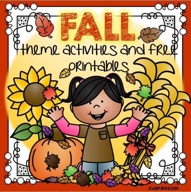 Download tons of FREE printables and theme activities for your FALL lesson plans and preschool and pre-K program