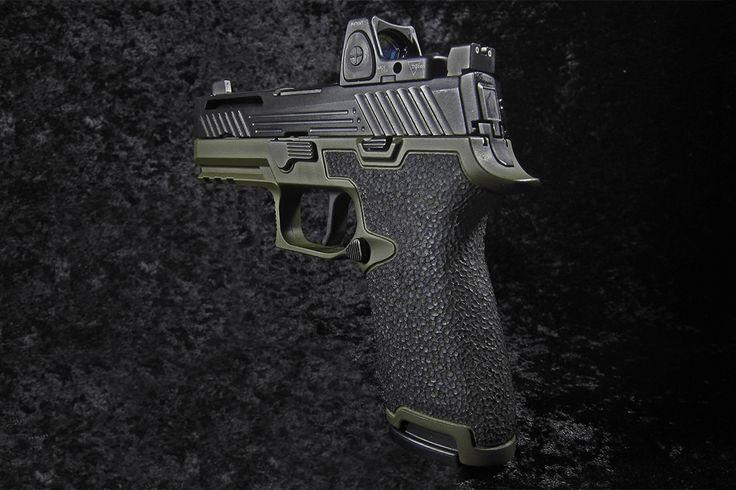 Sig Sauer P320 Custom Grip Stippling   Revolution Concepts